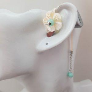 Le bijou d'appareil auditif Fleur de Jade par Odiora
