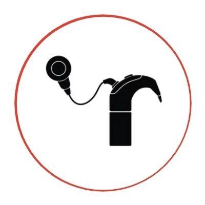 Schéma d'un appareil auditif de type implant cochléaire